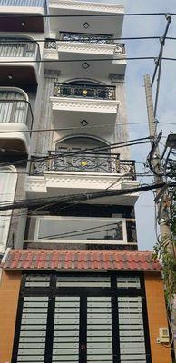 Nhà MTKD đường số 18(lvq). 1 lửng 3 lầu. Dt: 4x18
