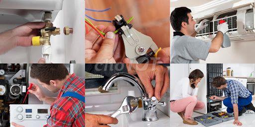 Sửa chữa điện - Nước - Điều Hòa tại nhà
