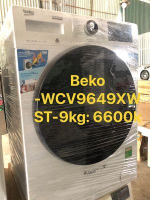 Máy giặt lồng ngang Beko Inverter 9kg- mới 100%