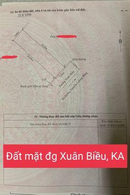 Bán mặt đường Xuân Biều, Kiến An, HP