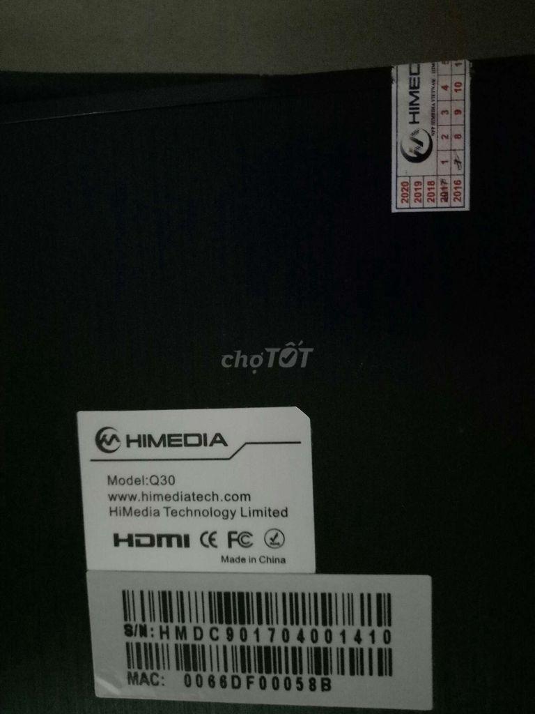 0961599945 - Không  xài  thanh  lý  TVBOX Himedia Q30