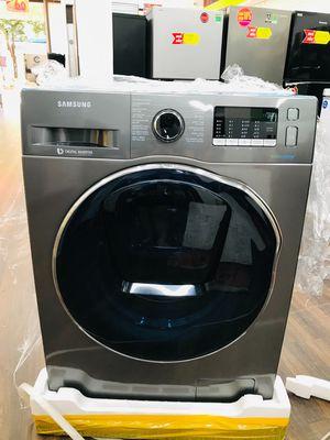 Máy giặt sấy Samsung xám 9,5kg / sấy 6kg