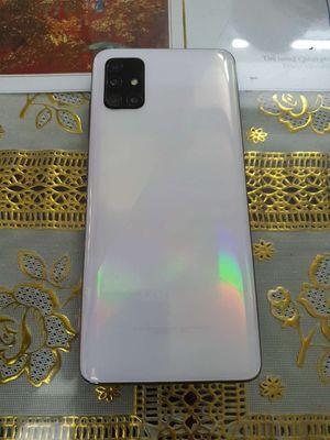 Samsung A51 trắng 99% còn bh 10 tháng chính hãng