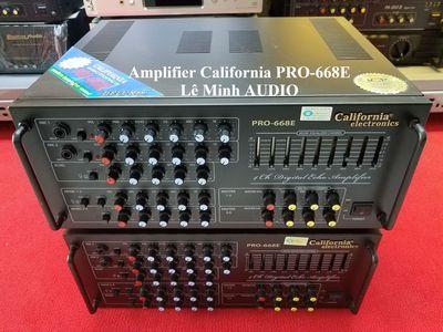 🍎 Amplifier California PRO-668E hàng Nhật Hoàng