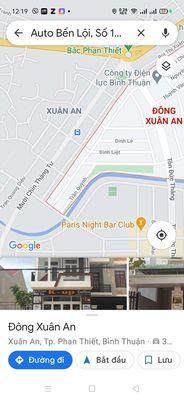 Bán đất thổ cư MT đường TP Phan Thiết