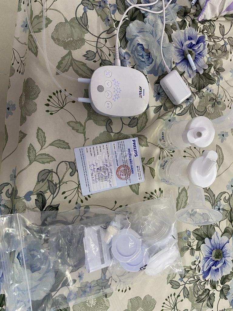 0902900955 - Máy hút sữa philip avent hoa tuyết mới 97%
