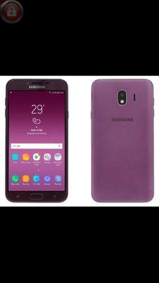 Samsung j4 tím