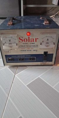 Ổn áp solar 5kv chạy tốt