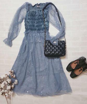 Váy tay bồng