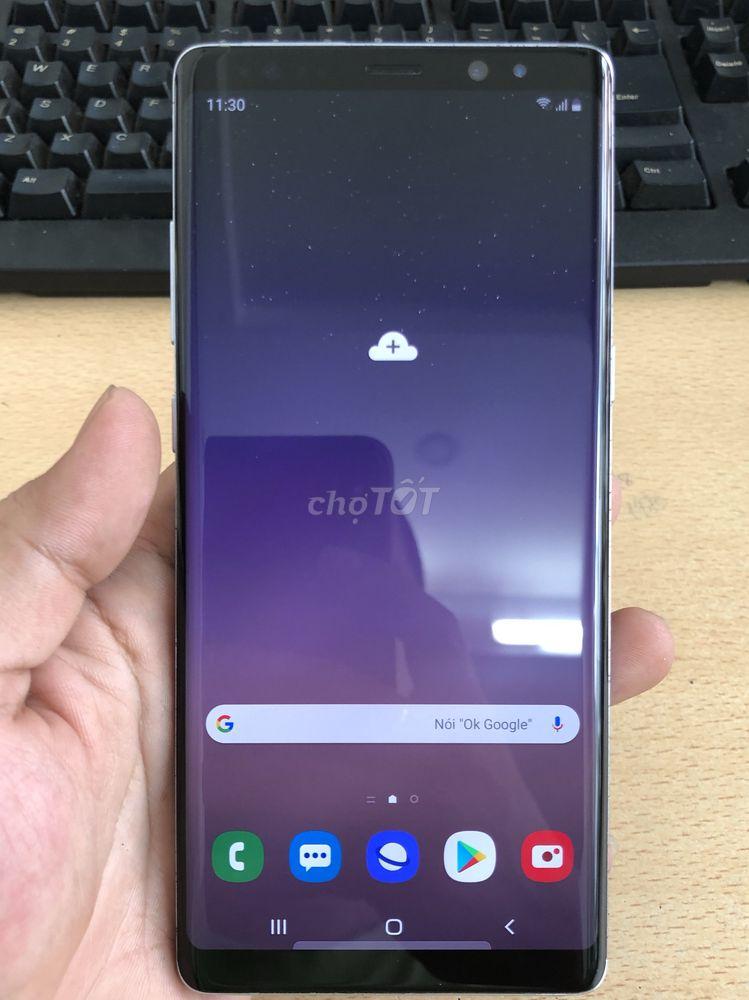 Samsung Note 8 N960F tím khói 2sim quốc tế zin áp
