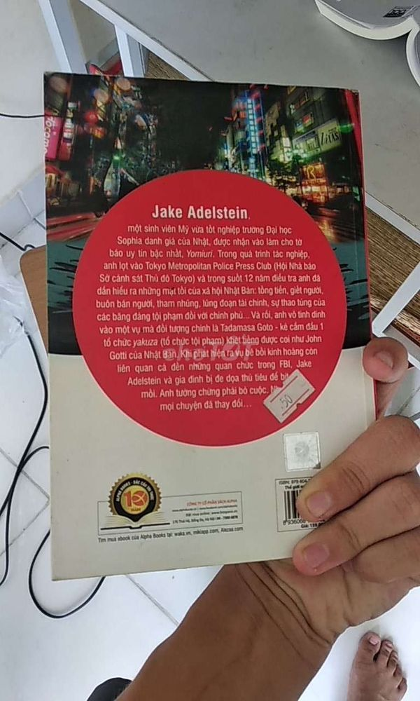 Sách Thế giới ngầm Tokyo - Jake Adelstein