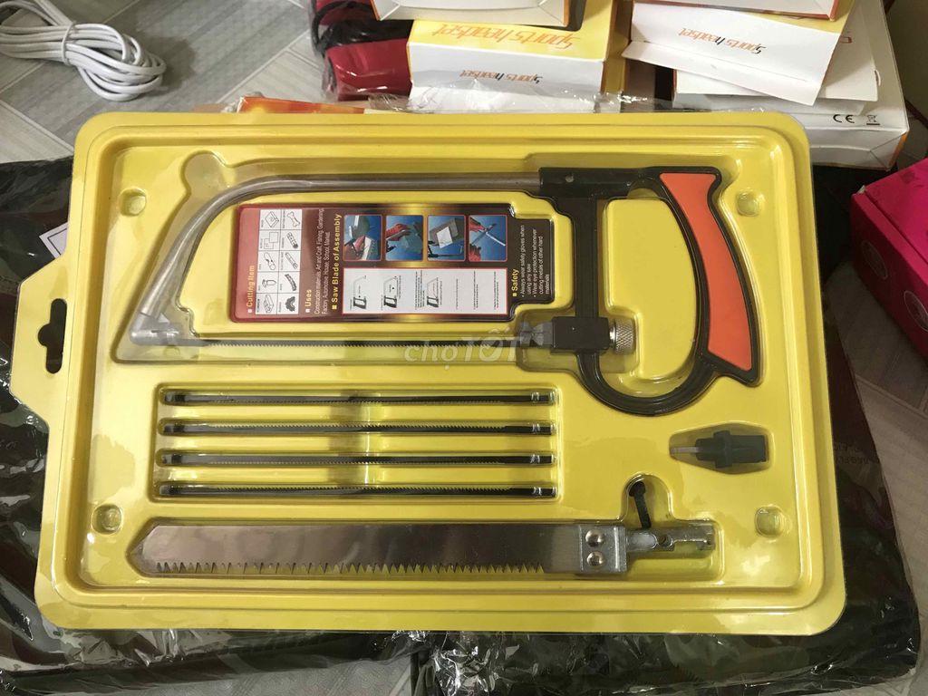 0935687499 - Bộ cưa 6 lưỡi đa năng tiện dụng kèm hộp đựng