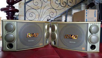 Loa Karaoke - Nghe Nhạc BMB 850 Màu Vàng Tem JAPAN