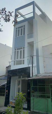 Nhà mặt tiền 3 lầu sổ hồng đường Ụ Cây p10 q8