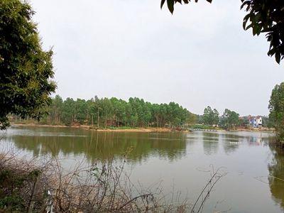 Đất mặt hồ sát Bắc Sơn Sóc Sơn, sổ đỏ 10100m 3.2tỷ