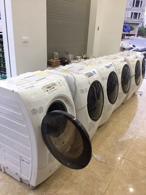 Thanh lý máy giặt nội địa Nhật giặt kiêm sấy khô