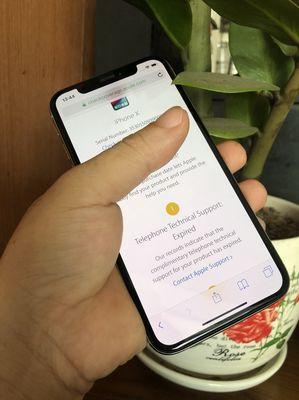 Iphone X 64gb Silver QT full face id 98%