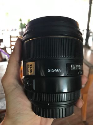Ống kính SIGMA 85mm F1.4 EX DG for Canon