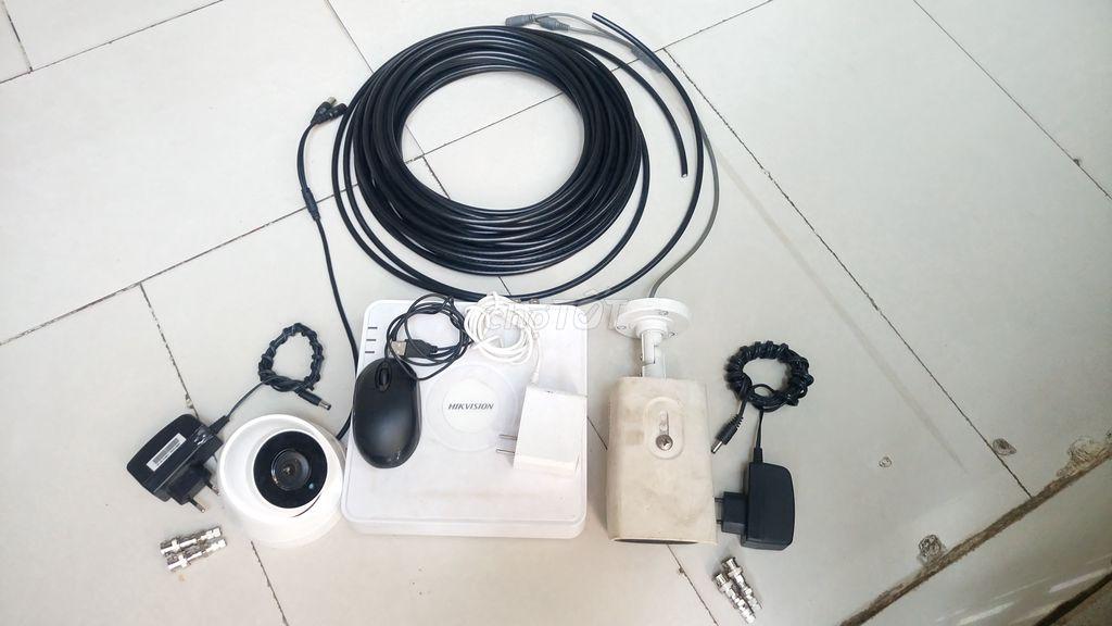 H0t ! Trọn bộ camera mới 90% HKvision 2.0mp,HDD 1T
