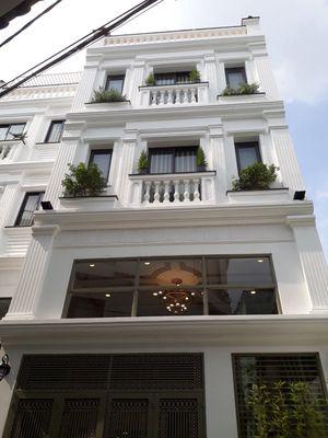 Nhà Quang Trung 5.5x14 (58m2) lửng 3 lầu, khu VIP!