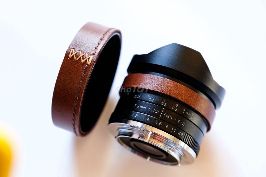 Ống kính 7artisan 7,5mm ngàm Fujifilm x