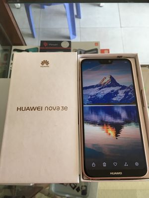 Huawei nova 3e 4GB/64GB Fullbox gold Đẹp Keng