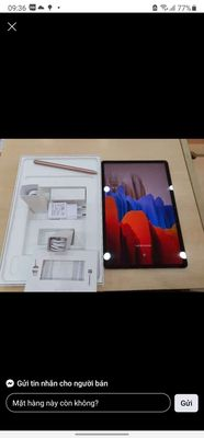 Samsung tab s7 full boxx