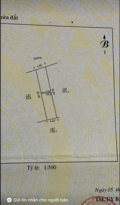 Bán đất phố Bình Lộc, ph Tân Bình, 82.5m2, mt 4m,