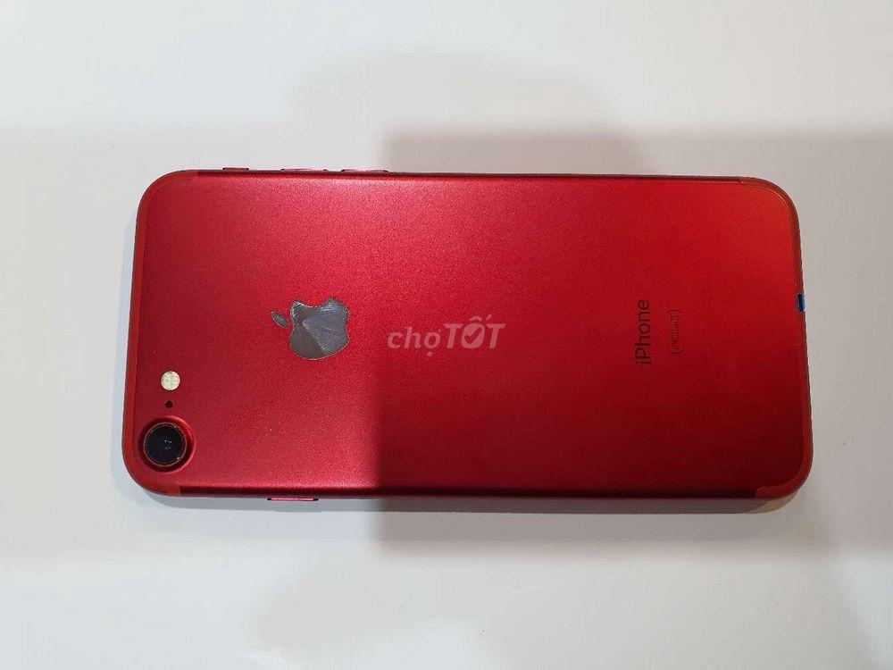 IPhone 7 red 128G quốc tế trả bảo hành