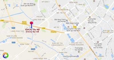 Chung cư Imperia Smart City Phía Tây  56m² 2PN 1WC