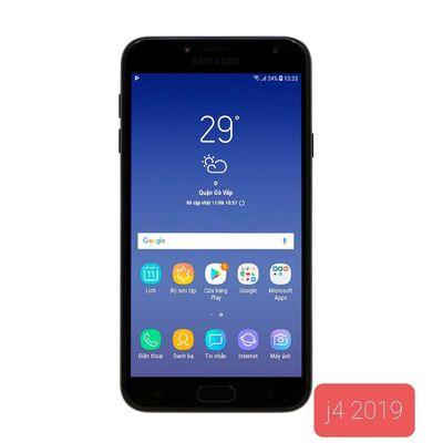 Samsung Galaxy J4, dán keo 2 mặt, dùng ốp
