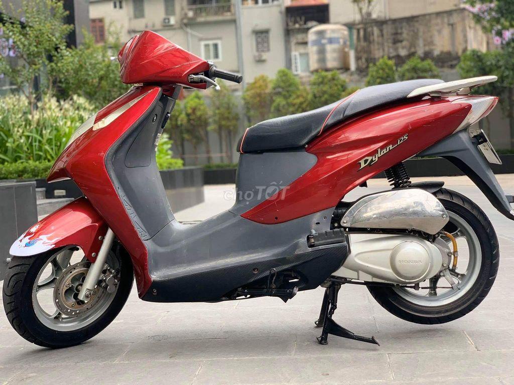 0965709830 - Honda Dylan 125 màu đỏ 2004 xe đẹp