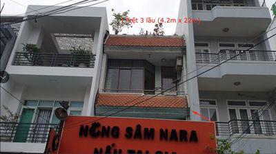 Nhà ở kết hợp văn phòng tại D2 Q.Bình Thạnh 92.4m²