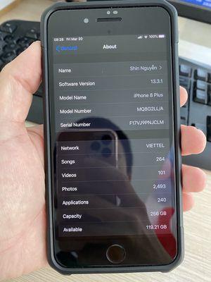 iPhone 8 Plus 256GB / Lock Mỹ Full Hộp / Duyệt Nợ
