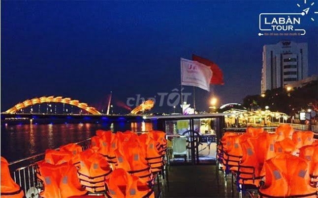 Vé Du Thuyền Sông Hàn ngắm cảnh đêm tại Đà Nẵng