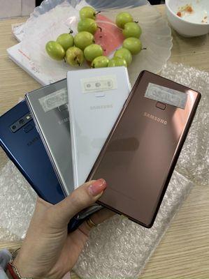 Samsung Note 9-128G đủ màu đẹp 99%.