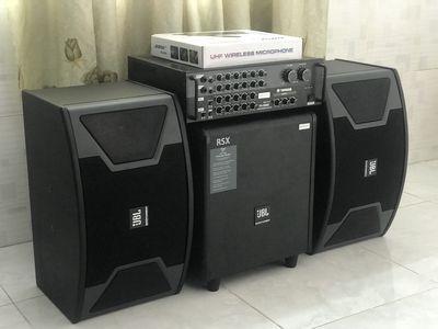 Dàn karaoke JBL +amly YAMAHA +Sub 3tac Còn BH