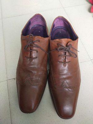 Giày da nam hiệu pari size 42 nâu