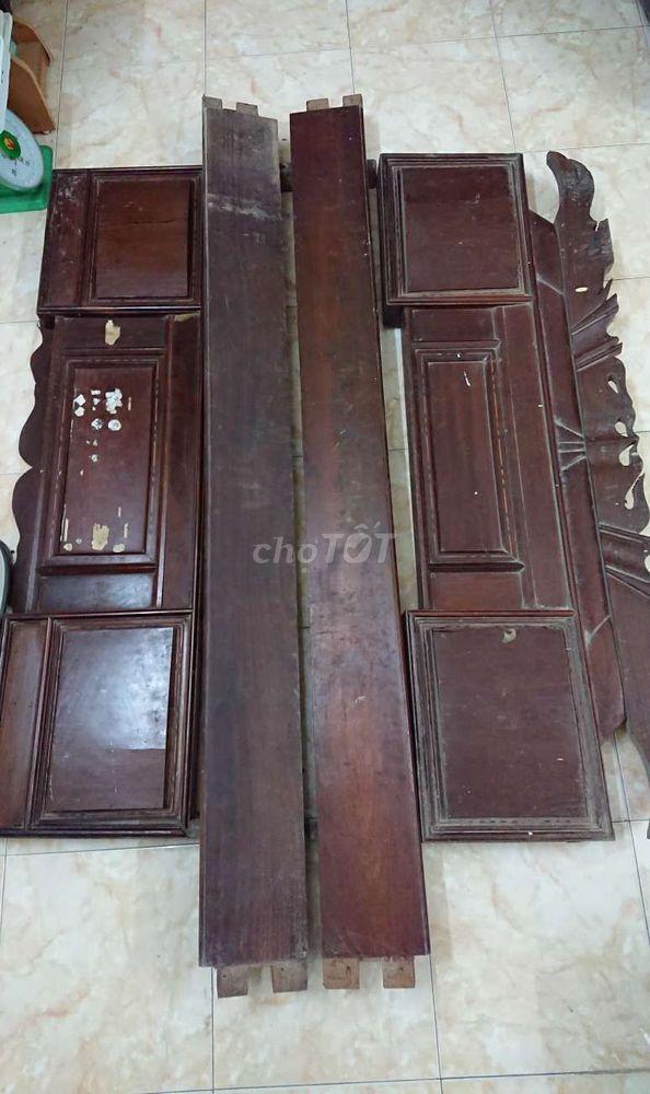Thanh lý giường gỗ lim cũ