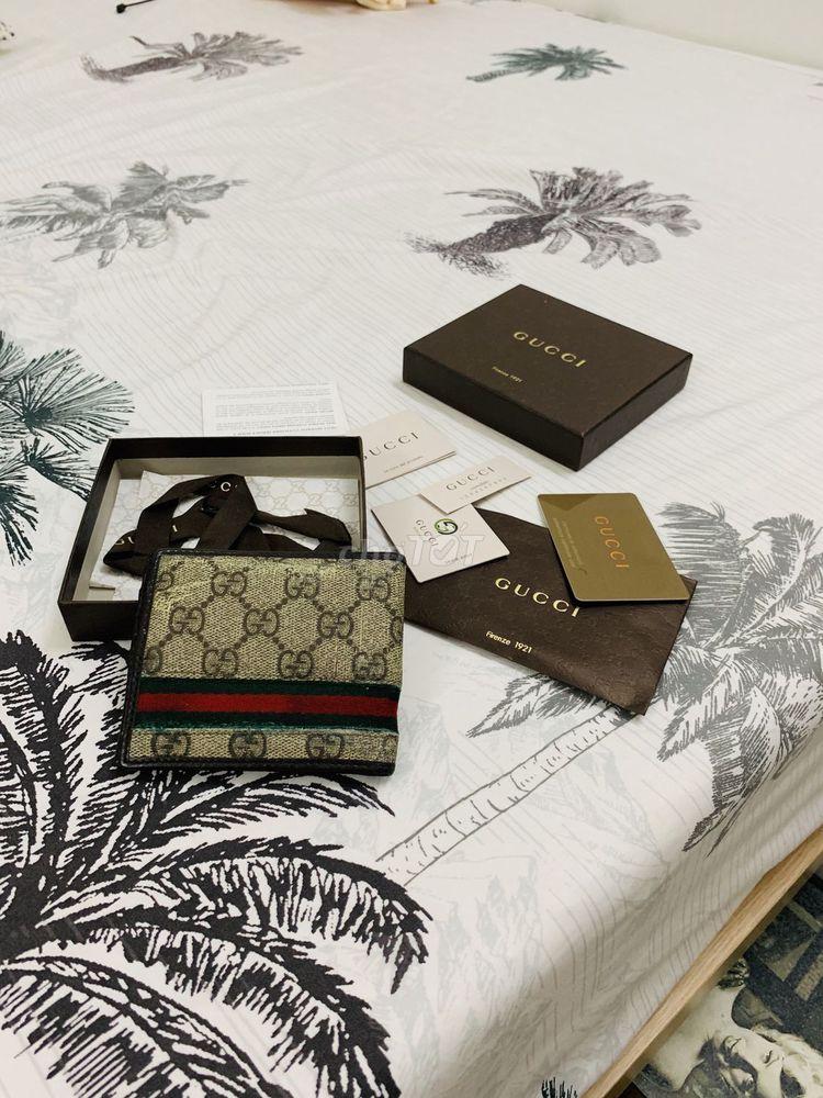 Bán ví Gucci hàng authentic 100%
