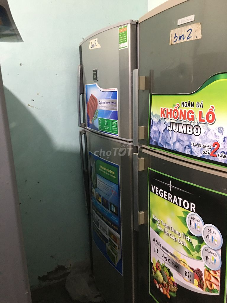 tủ lạnh sharpp 402L mới 90%