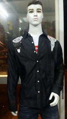 Áo khoác jean nhẹ Nam