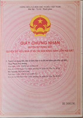 Mặt Tiền Nguyễn Ảnh Thủ , Trung Chánh - HM