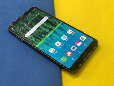 Đăng bán LG G6 đen #32gb bao test mới keng