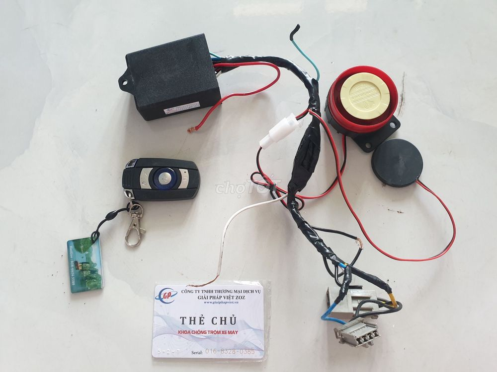 Bán ổ khóa thẻ từ như hình cho các dòng xe