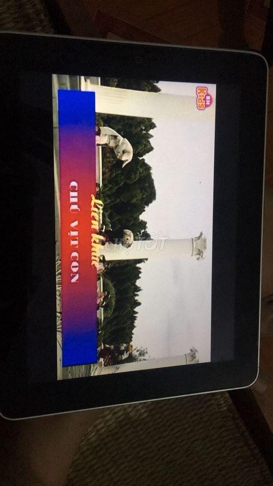 Apple iPad 1 32 GB Bản Wifi xem youtube ok