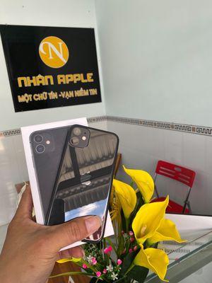 Apple iPhone 11 đen 128gb QT zin áp có góp