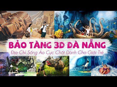 BẢO TÀNG TRANH 3D ĐỘC ĐÁO VỚI TRẺ SỐNG ẢO