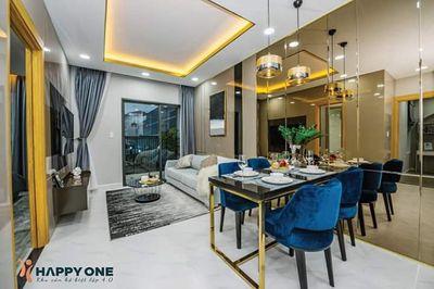 Bán gấp căn hộ Happy One, 2PN, 2WC giá chỉ 1,52 tỷ