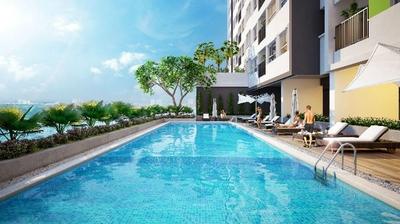 Chung cư Moonlight Residences 54m² 1PN FULL NT